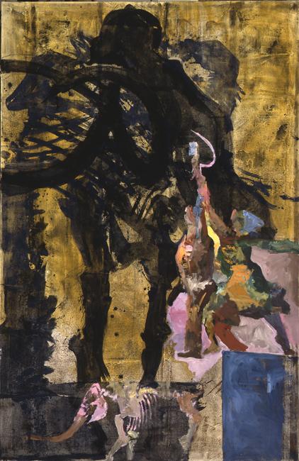 Lenins Schlaf: Der Koloss, 1995, 200 x 130