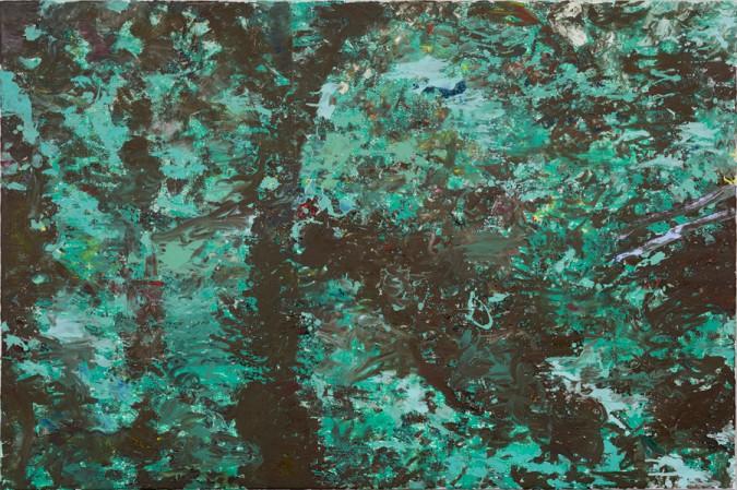 Wald I, 2007, 120 x 180