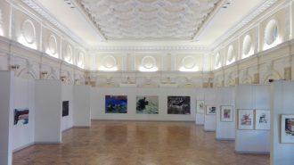 Ansicht der Ausstellung Idylă şi distrugere